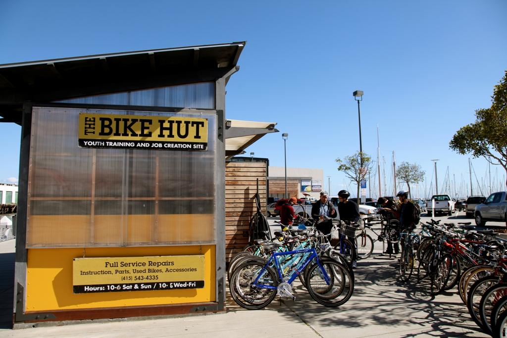 The San Francisco Bike Hut Bikes Bikes And More